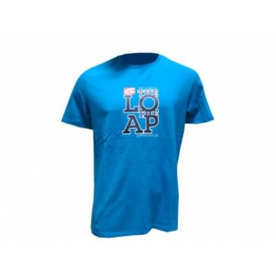 f38417f29 tričko Loap krátke pánske JOSH modré