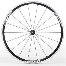 Napl. koleso ZIPP 30 plášťové predné, 18 d., čierne, biely polep