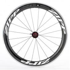 Napl. koleso ZIPP 60 plášťové zadné, 20 d., čierne, biely polep (SRAM)