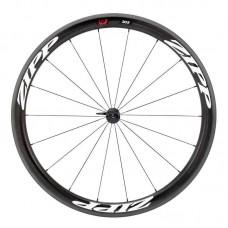 Napl. koleso ZIPP 303 Firecrest plášťové predné 18 drátov , čierne, biely polep