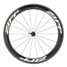 Napl. koleso ZIPP 404 Firecrest plášťové predné 18 drátov , čierne, biely polep