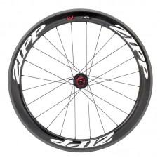 Napl. koleso ZIPP 404 Firecrest galuskové zadné 24 drátov , čierne, biely polep, SRAM