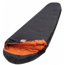 spacák LOAP CAYNE čierno-oranžový